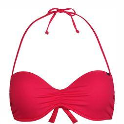 Solid Padded Wire Bandeau Bikinitop