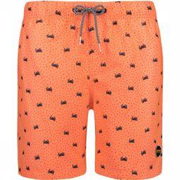 Shiwi Men Swim Short Crabby Oranje