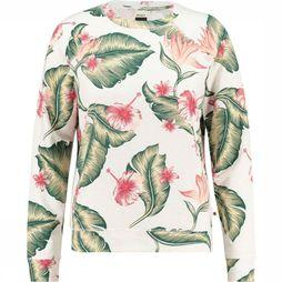Roxy Girls of Summer Sweater Dames Wit/Assortiment Bloem