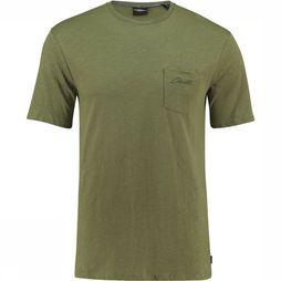 O'Neill LM Jack's Base Regular T-Shirt Donkergroen