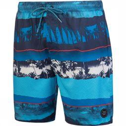 Protest Spine Beachshort Middenblauw