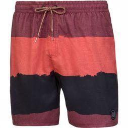 Protest Bilo Beachshort Donkerrood