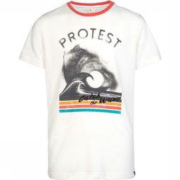 Protest Aruro T-Shirt Junior Gebroken Wit