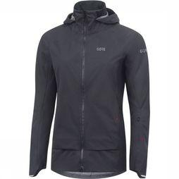 Gore Wear C5 GTX Active Trail Hooded Jas Dames Donkergrijs