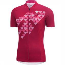 C3 Digi Heart Shirt Dames
