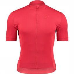 Craft Essence Jersey Fietsshirt Middenrood