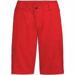 Vaude Ledro Shorts Dames Middenrood