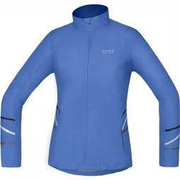 Gore Running Wear Mythos Windstopper Active Shell Light Jas Dames Middenblauw