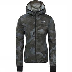 The North Face Geweven Ambition Jas voor dames Taupe/Assortiment Camouflage