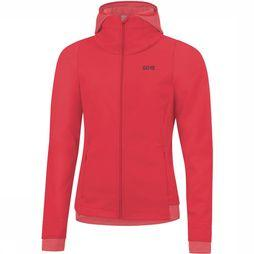 Gore Wear R3 GWS Thermo Hoodie Dames Middenrood