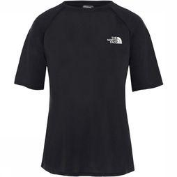 The North Face Train N Logo S/S Top Dames Zwart