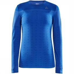 Craft Urban run Fuseknit light ss T-shirt voor dames Blauw