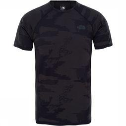 The North Face Kilowatt Seamless Shirt Donkergrijs Mengeling