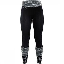 Craft Core Block Legging Dames Zwart/Wit