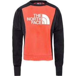 The North Face Train N Logo Trui Dames Rood