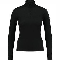 Odlo Turtle Neck Shirt Dames Zwart