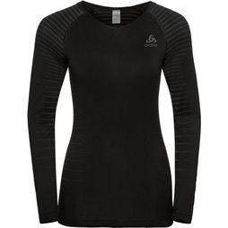 Odlo SUW Top Crew Neck LS Performance Light Top Dames Zwart