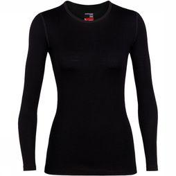Icebreaker 260 Tech Shirt Dames Zwart