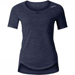Odlo Revolution Light T-shirt Dames Donkerblauw
