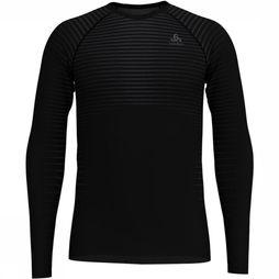 Odlo SUW Crew Neck Performance Light L/S Top Zwart
