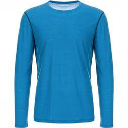 Supernatural Base 140 Shirt Blauw/Koningsblauw