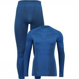 Craft Baselayer Seamless Zone Set  Blauw/Donkerblauw