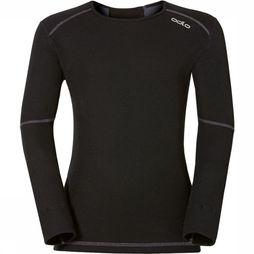 Odlo X-Warm Crew Neck Shirt Junior Zwart