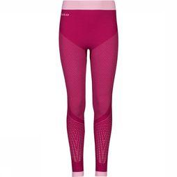 Odlo Evolution Warm Broek Junior Fuchsia/Middenroze
