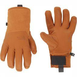 The North Face Leather II Solo Handschoen Dames Middenbruin