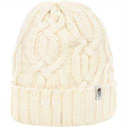 The North Face Minna Beanie Gebroken Wit