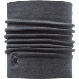 Buff Wool Thermal Grey Neckwarmer Donkergrijs