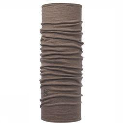 Buff Lightweight Merino Wool Buff Solid Walnut Brown Lichtbruin