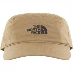 The North Face Logo Military Pet Dames Middenkaki