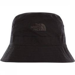 The North Face Cotton Bucket Hoed Zwart