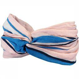 Barts Merry Headband Junior Lichtroze/Donkerblauw