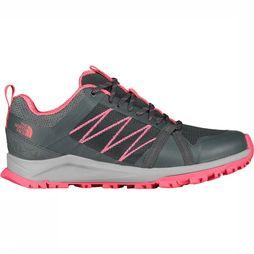The North Face Litewave Fastpack II Dames Schoen Donkergrijs/Middenroze