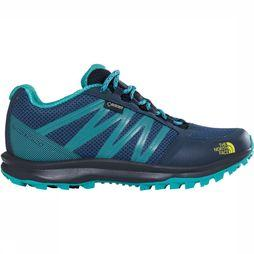 The North Face Litewave FP GTX Schoen Dames Marineblauw/Geel