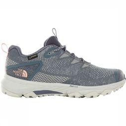 The North Face Ultra Fastpack III GTX Woven Schoen Dames Middengrijs/Lichtroze