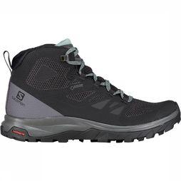 Salomon Outline Mid GTX Schoen Dames Zwart