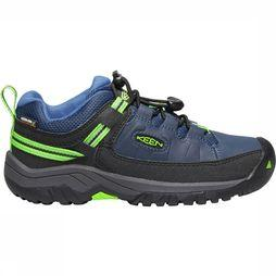 Keen Targhee Low WP Junior Koningsblauw/Lichtgroen