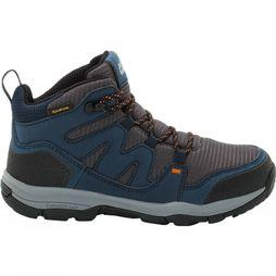 Jack Wolfskin Mountain Attack 3 Texapore Mid Junior Donkerblauw
