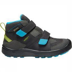 Keen Hikeport Mid Strap WP Youth Schoen Junior Donkergrijs