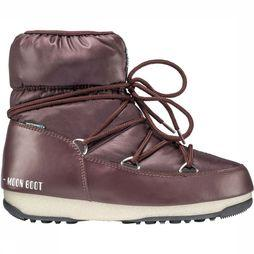 Moon Boot Low Nylon WP Winterschoen Zwart/Brons