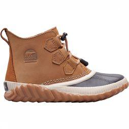 Sorel Out N About Plus Winterschoen Junior Lichtbruin/Zwart