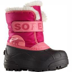 Sorel Snow Commander Winterlaars Junior Fuchsia/Middenroze