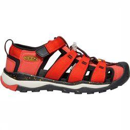 Keen Newport Neo H2 Youth Sandaal Junior Rood/Oranje