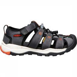 Keen Newport Neo H2 Youth Sandaal Junior Middengrijs/Oranje