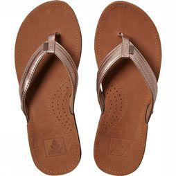 Reef Miss J-Bay Slippers Dames Taupe