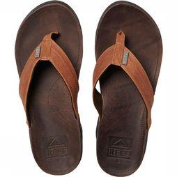 Reef J-Bay III Slipper Middenbruin/Brons