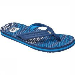 Reef Ahi Slipper Junior Middenblauw
